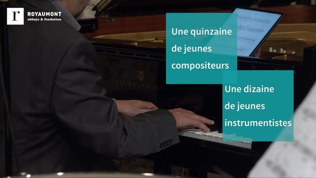 Académie Voix Nouvelles : musique d'aujourd'hui, talents de demain
