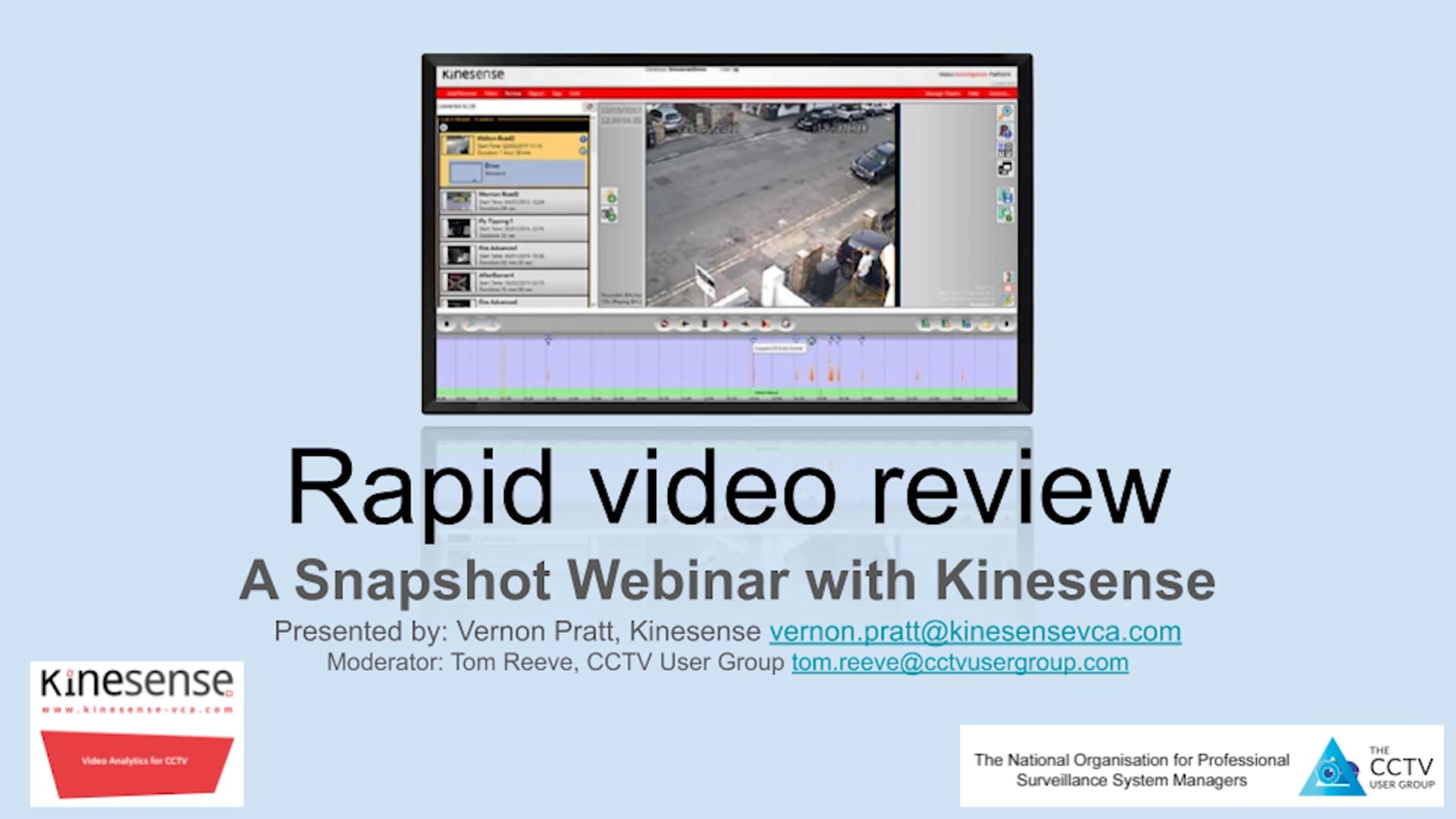 02 Snapshot Webinar with Kinesense - 10 Dec 2020