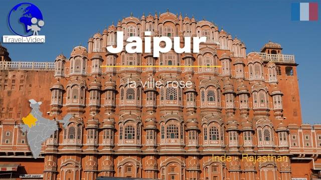 Jaipur, la ville rose • Rajasthan, Inde (FR)