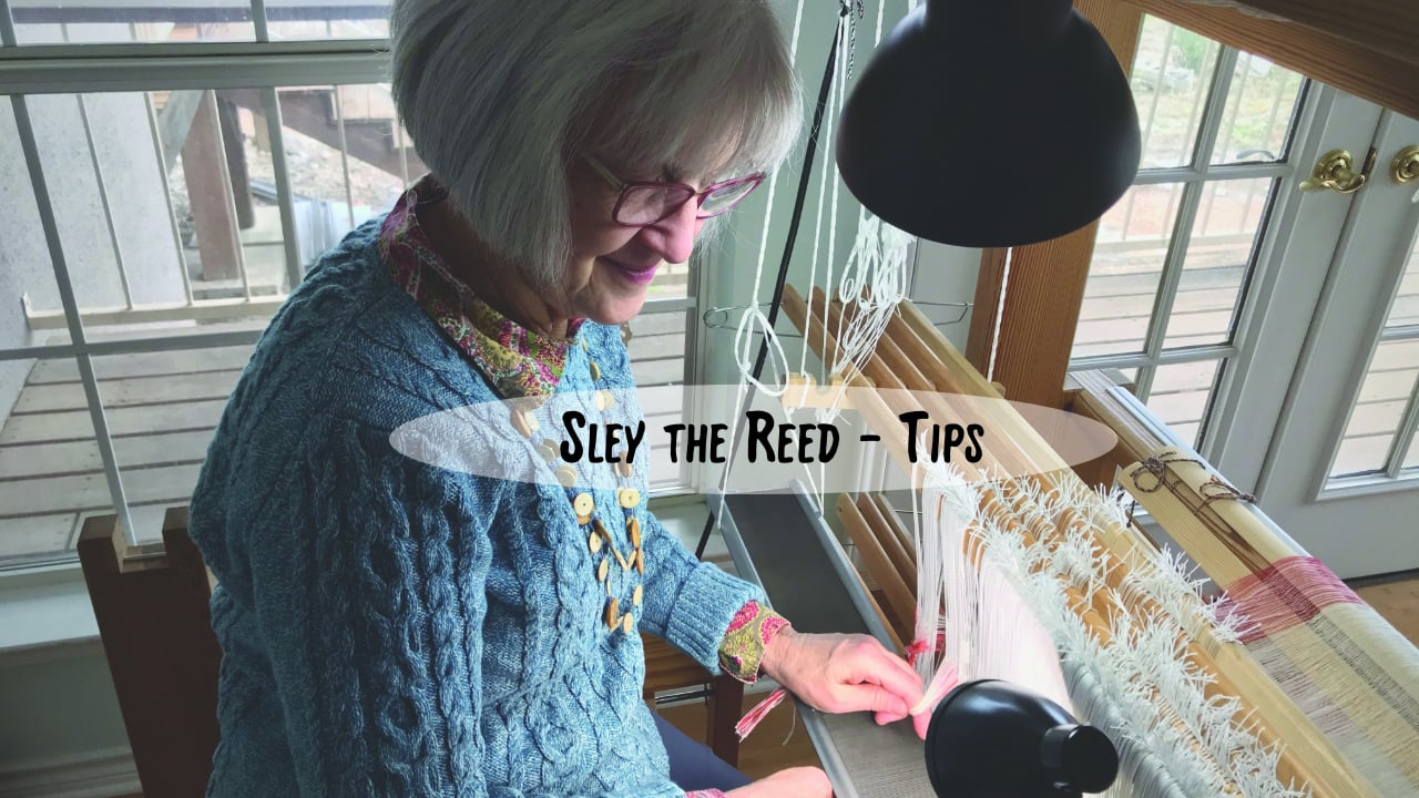 Sley the Reed - Tips