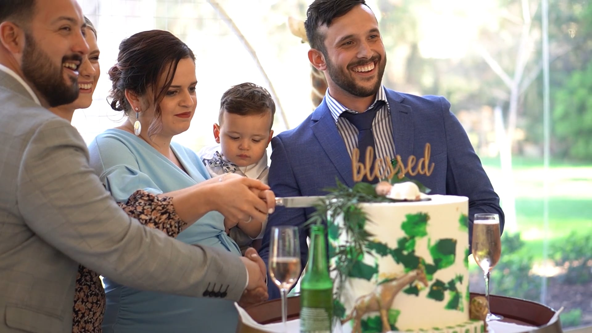 Alessio's Baptism