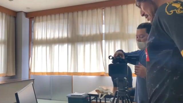 【メイキング】ユニフォーム撮影の裏側(本間幸司選手の場合)