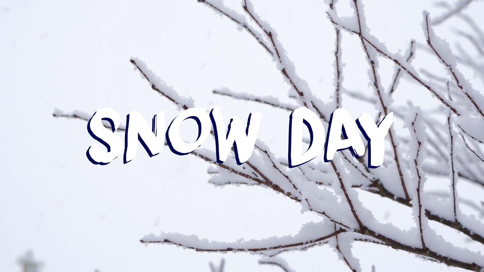 Snow at CFL - Jan 2021