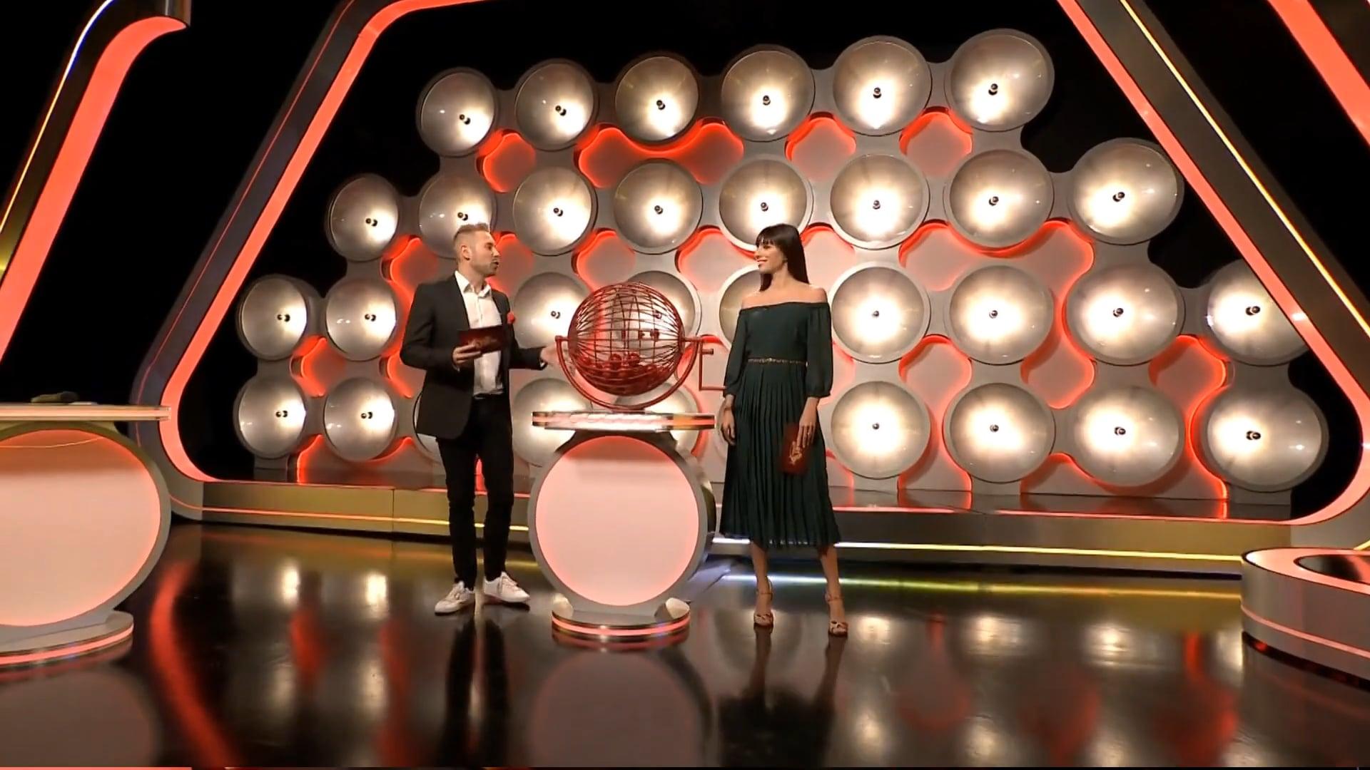 Szerencsejáték Zrt. lottery shows | set designs, rebranding
