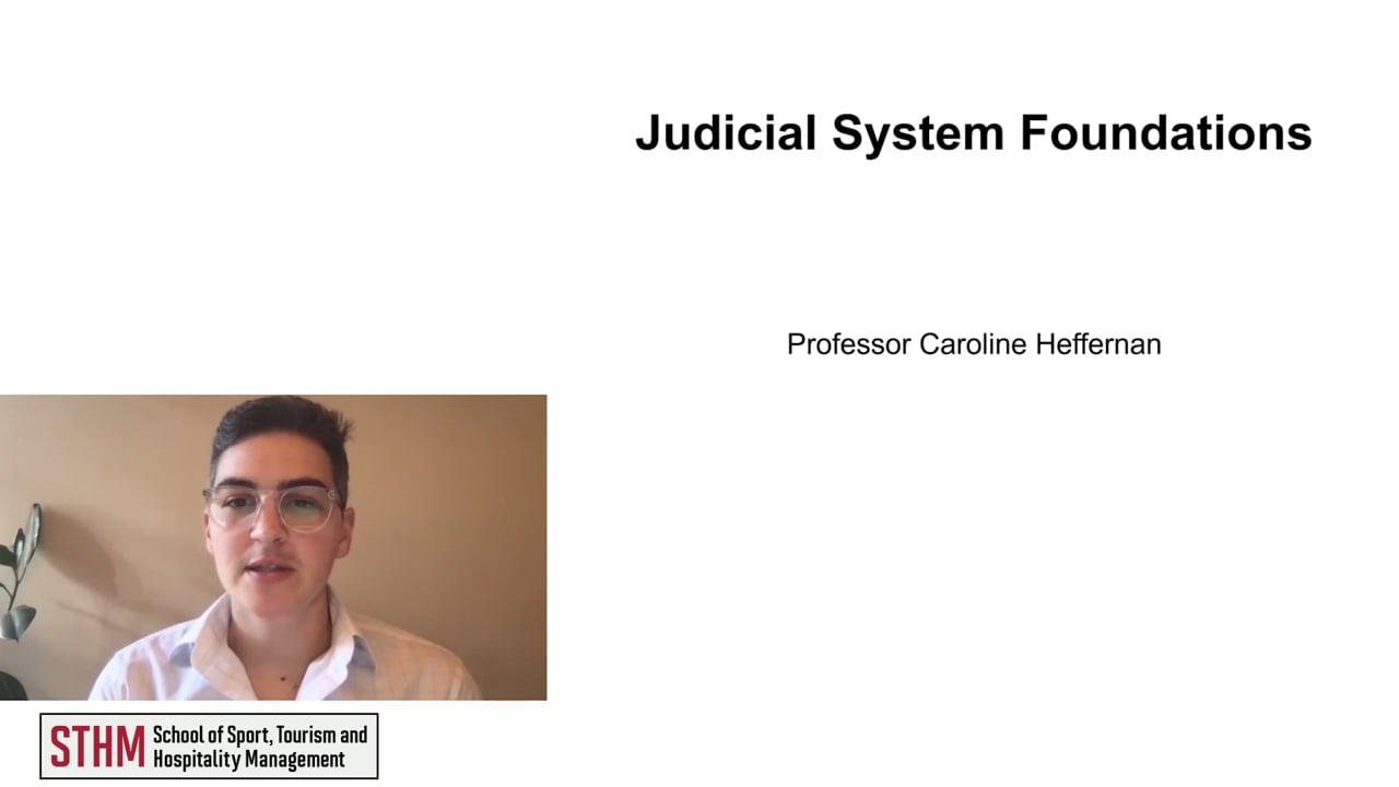61961Judicial System Foundations