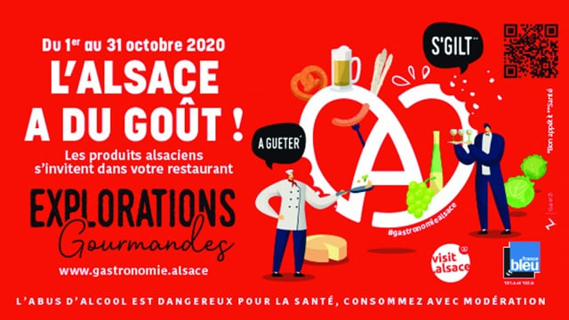 ADT STRASBOURG : Explorations Gourmandes 2020 l'Alsace à du Goût.