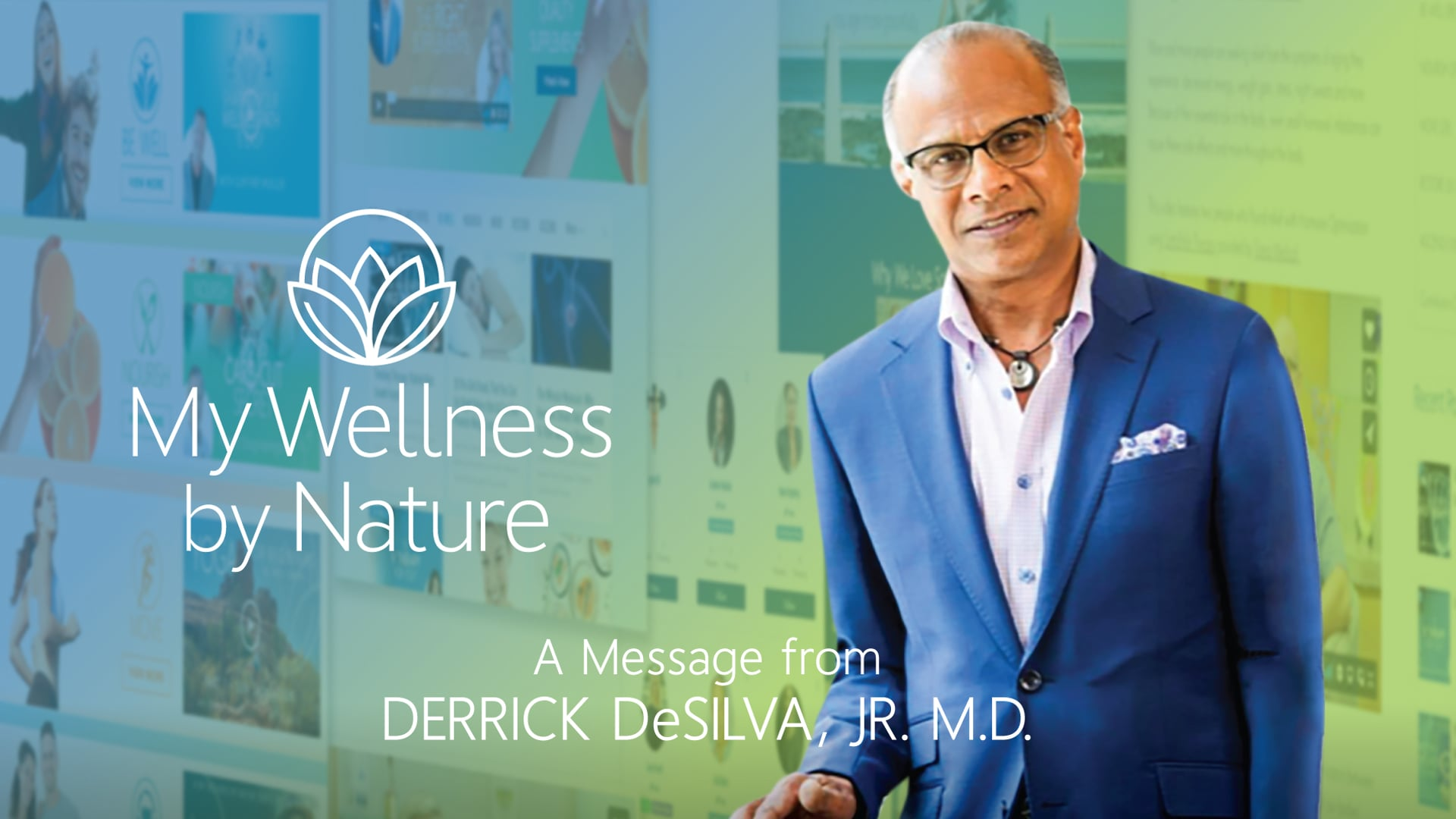 Dr. DeSilva Discusses the Importance of My Wellness by Nature