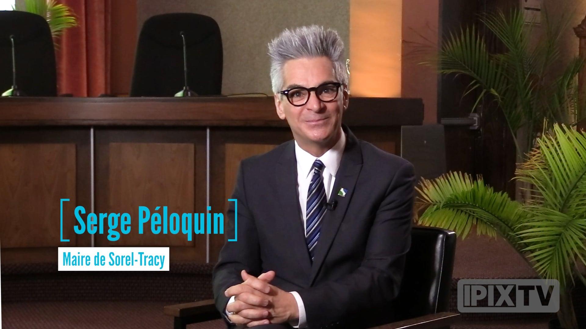CCIST.TV   Classe Affaires avec Serge Péloquin, maire de Sorel-Tracy