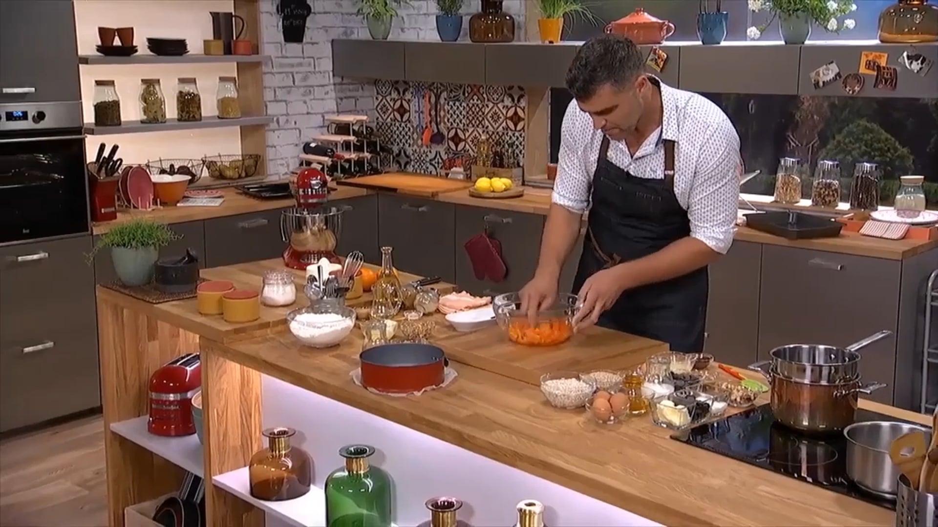 TV Paprika cooking shows | set design