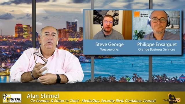 Steve George+ Philippe Ensarguet TechStrong TV