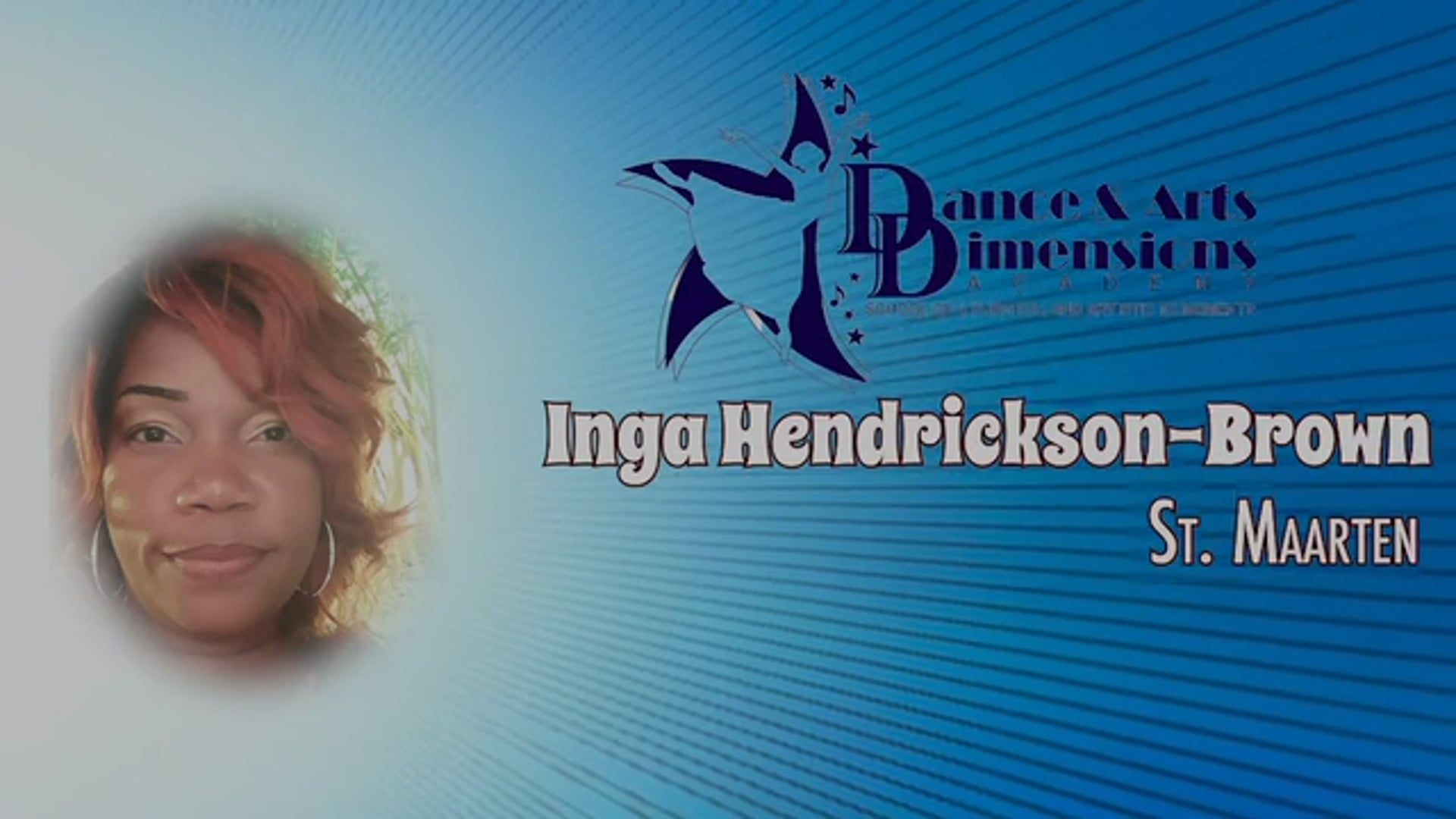 Caribbean Profile -Inga Brown of Dance & Arts Dimension