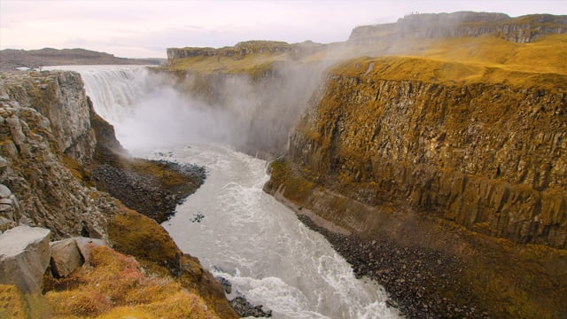 Breathtaking Waterfalls of Iceland. Part 4 - HDR Natire Relax Video