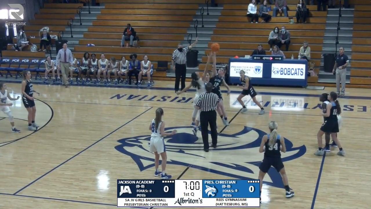JV Girls Basketball vs PCS - 01-12-21