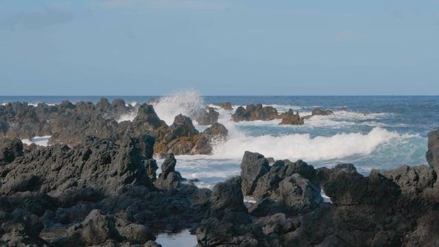 Majestic Ocean in Daylight, Maui Island, Hawaii - Nature Relax Video in HD