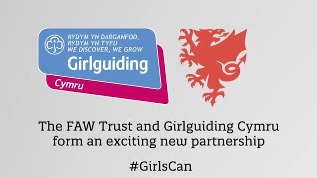 Girlguiding Cymru | FAW Trust Partnership