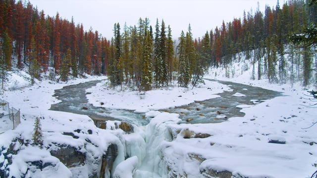Best Scenic Nature Places of Canada. Part 3 - Short Relax Video