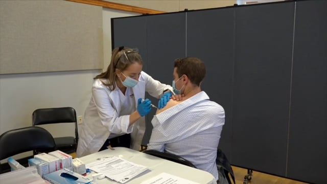 Storyline - Princeton's Vaccine Rollout