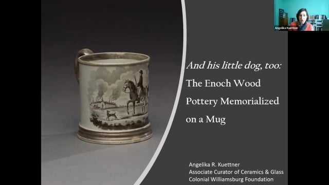 And His Little Dog, Too: The Enoch Wood Pottery Memorialized On A Mug by Angelika R. Kuettner
