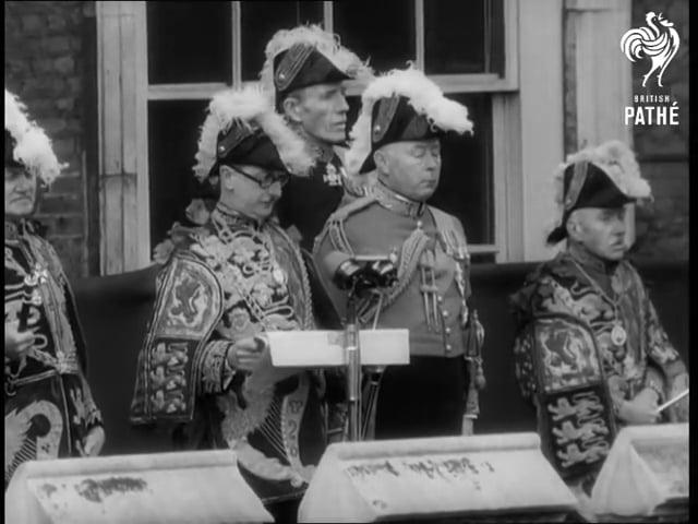 The Queen's accession (6th February, 1952)