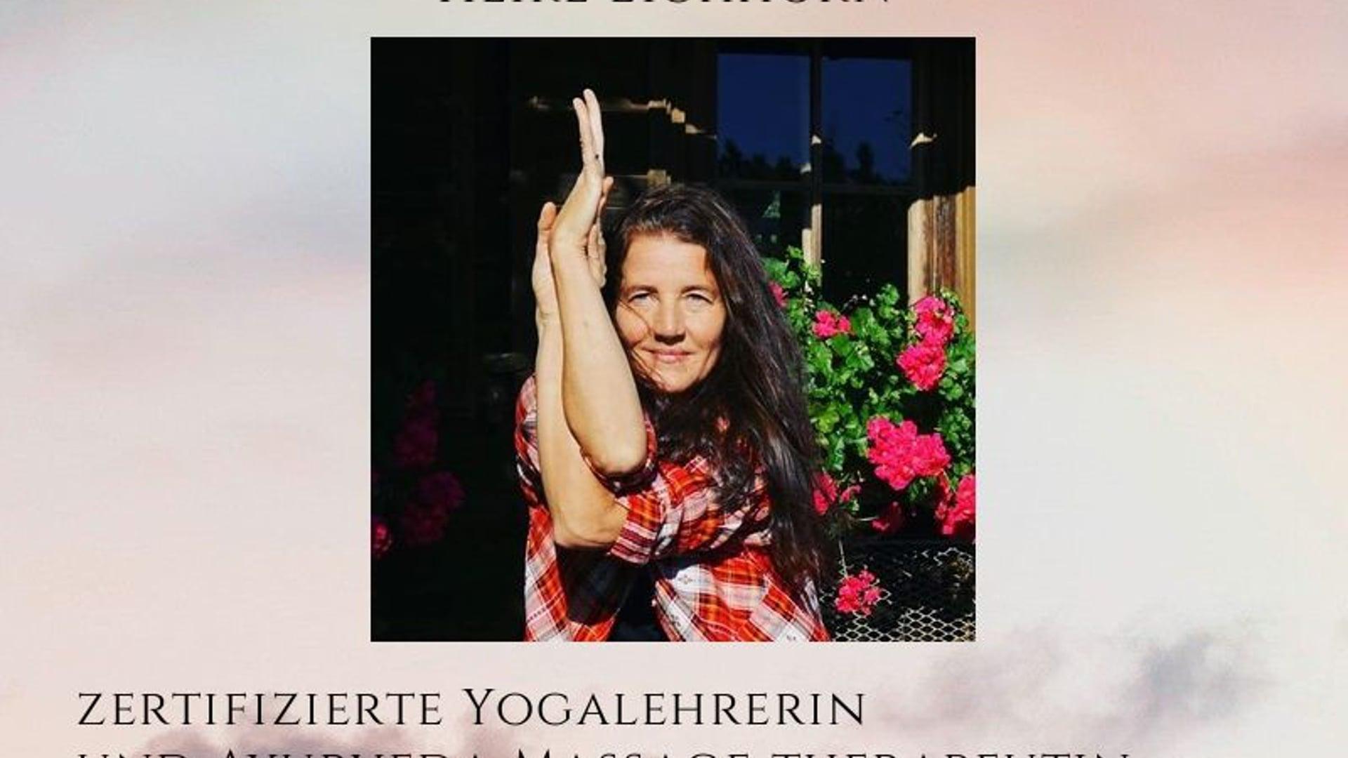 Yogaübung für zu Hause Teil 2