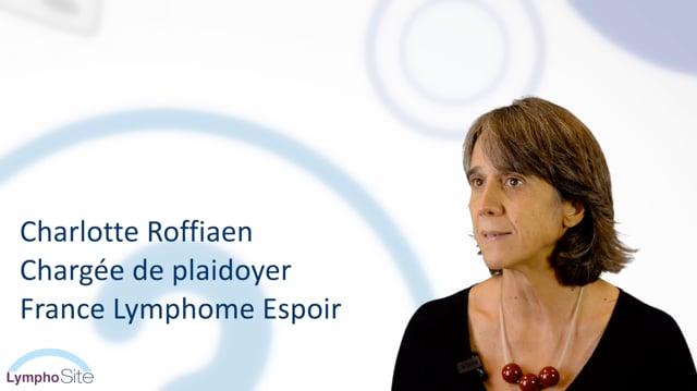 Miniature de la vidéo Charlotte ROFFIAEN nous parle de LymphoSite.fr