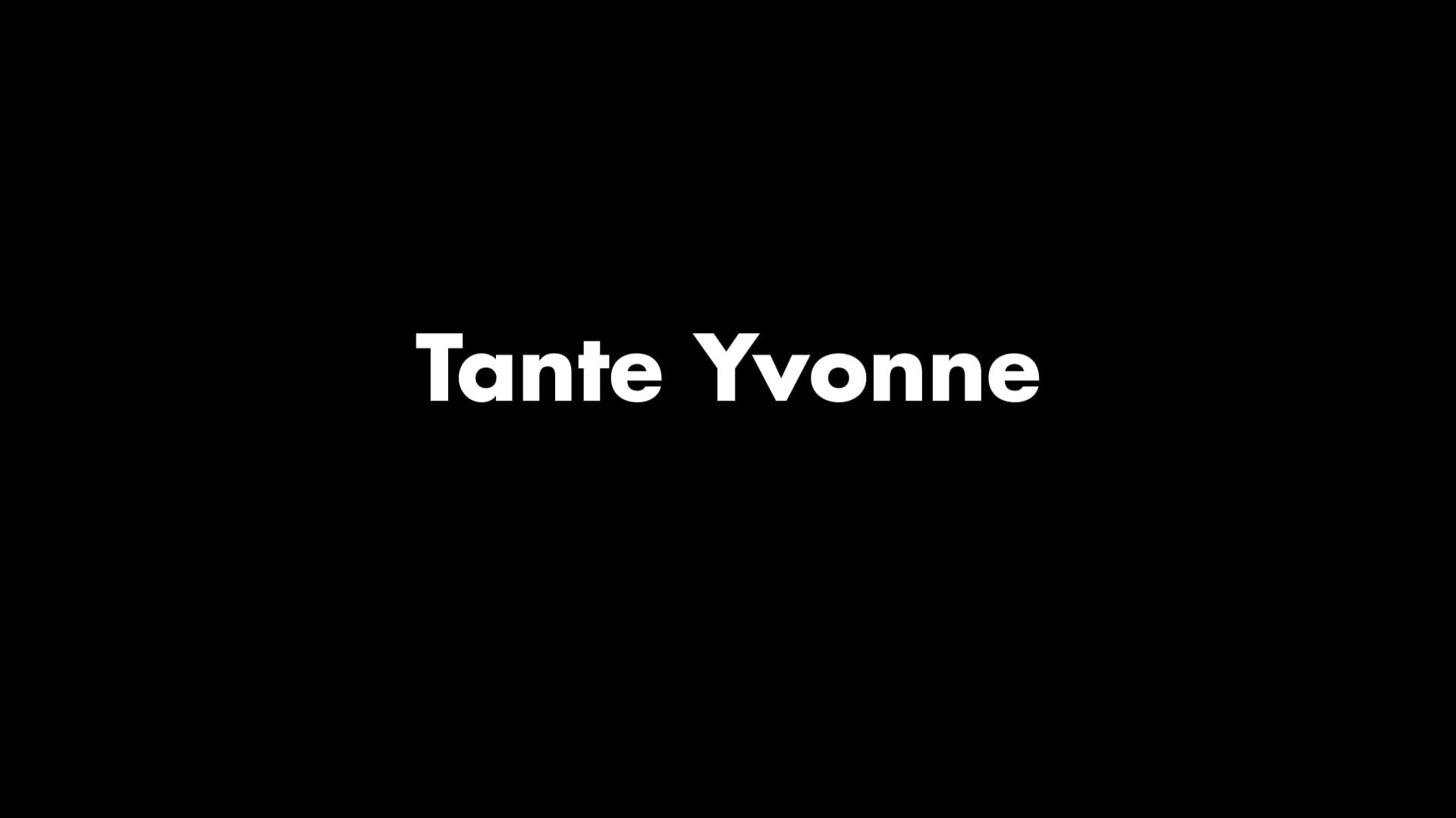 Teaser Tante Yvonne, Création 2019.