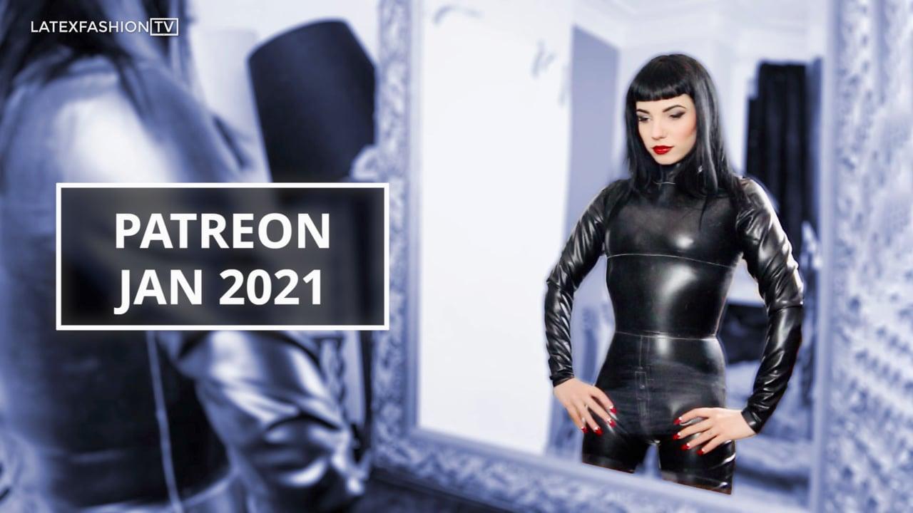 Patreon January 2021 | LatexFashionTV