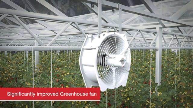 Greenhouse fan  -  Vostermans