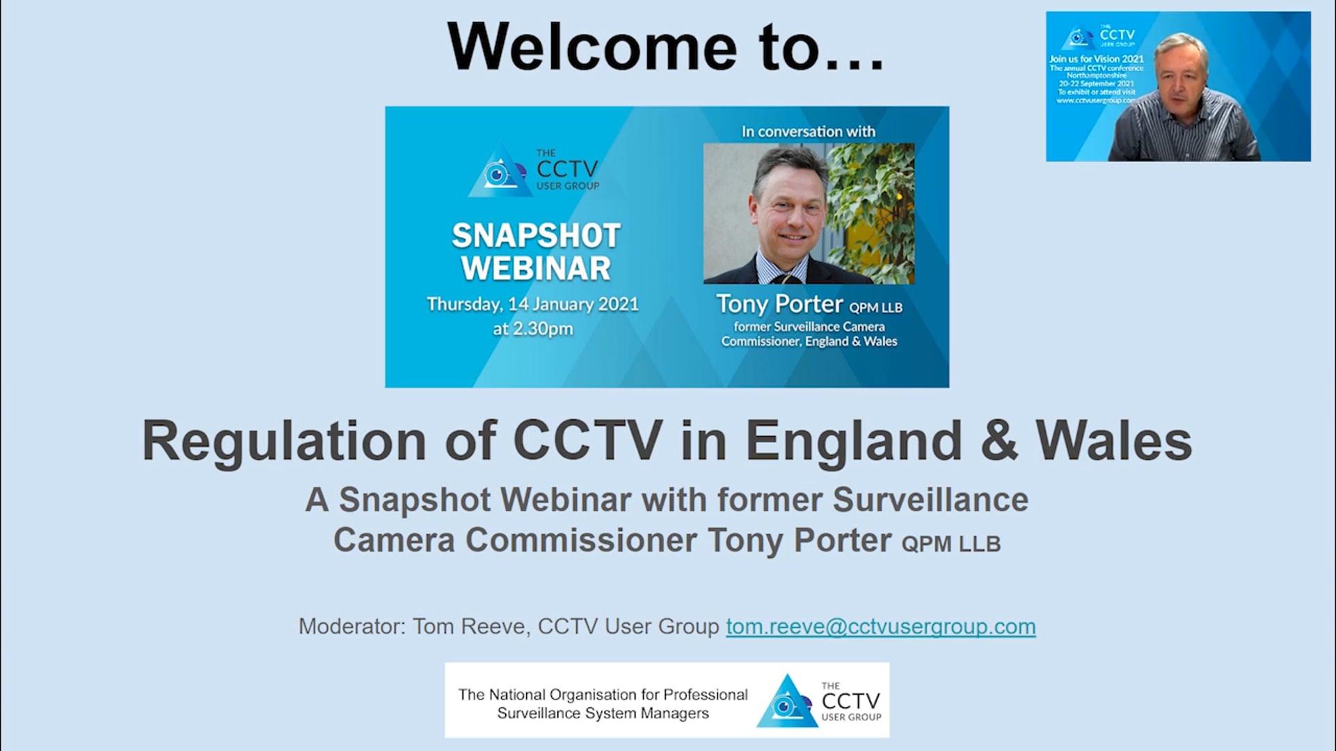 04 Snapshot Webinar - In conversation with Tony Porter