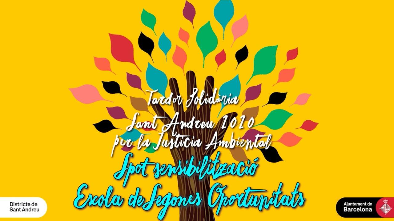 Spot Tardor Solidària 2020 Escola Segones Oportunitats (Spot 2)