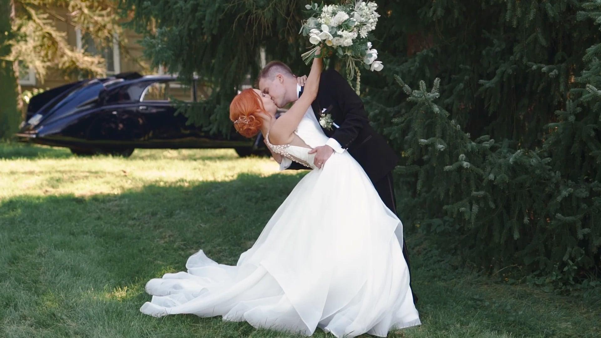 Svatební den: Tina a Tomáš / Zámek Napajedla