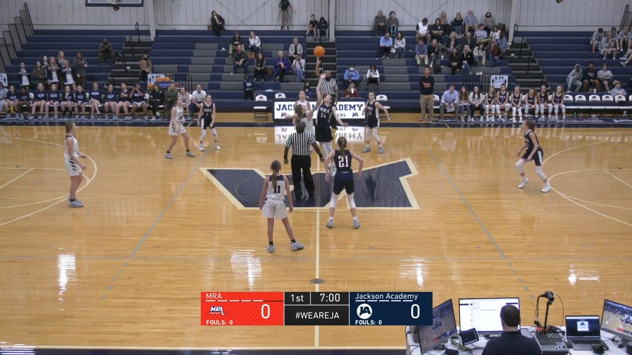 JV Girls Basketball vs MRA - 01-19-21
