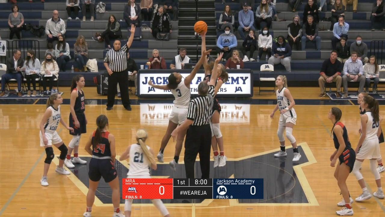 Varsity Girls Basketball vs MRA - 01-19-21
