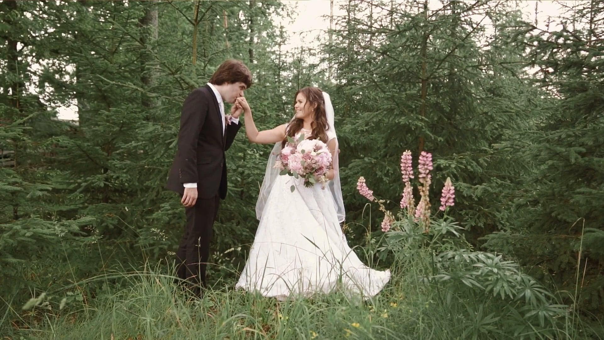 Svatební den: Veronika a Tobiáš / Zvíkov