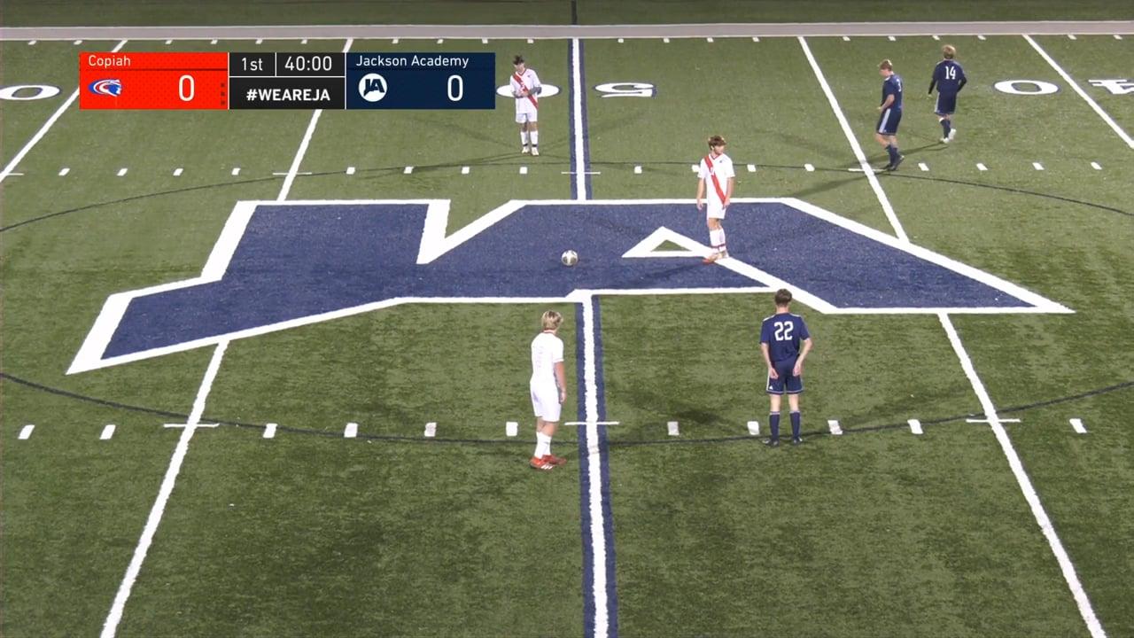 Varsity Boys Soccer vs Copiah - 01-19-21