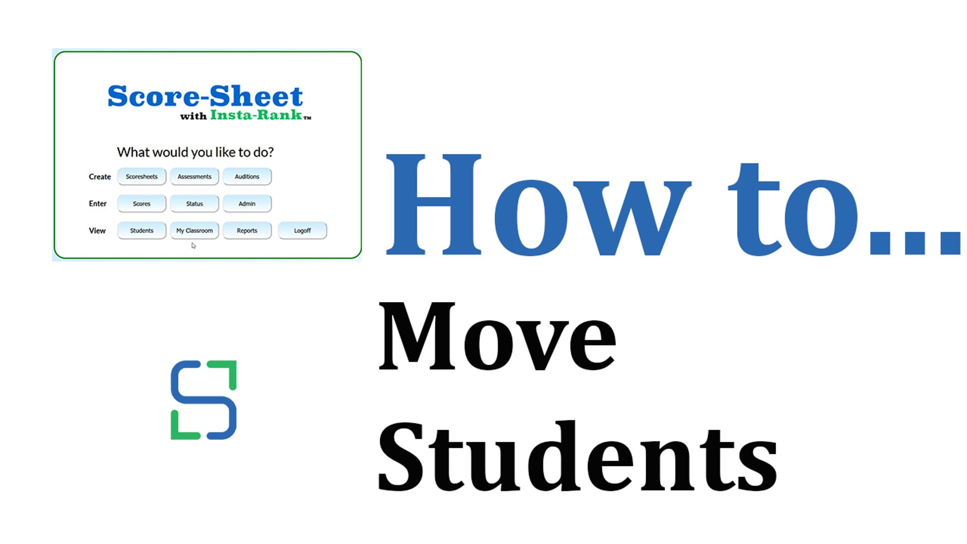 15 - MOVE STUDENTS