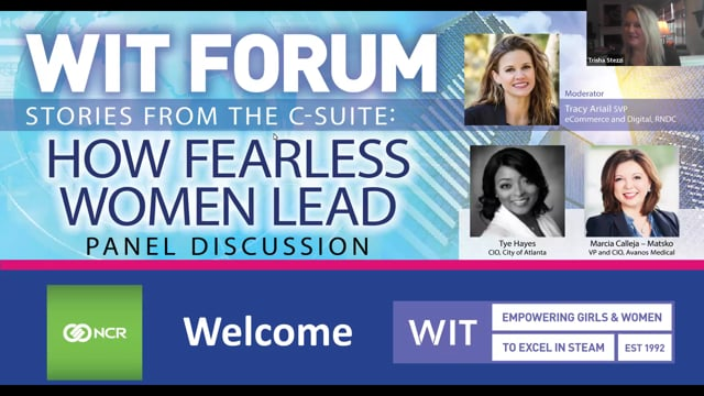 January 2021 Forum- Stories from the C-Suite How Fearless Women Lead