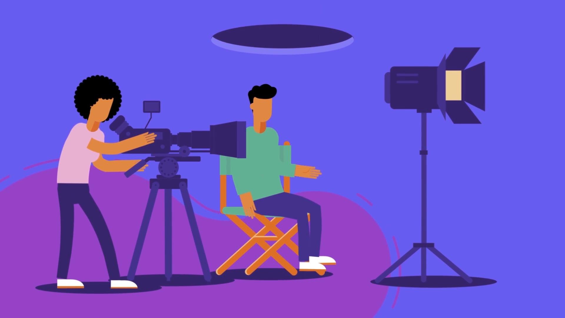 UCL Media BA promo | promo animation