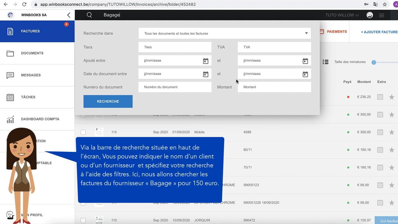 #tuto WinBooks – Explorez les archives dans WinBooks Connect