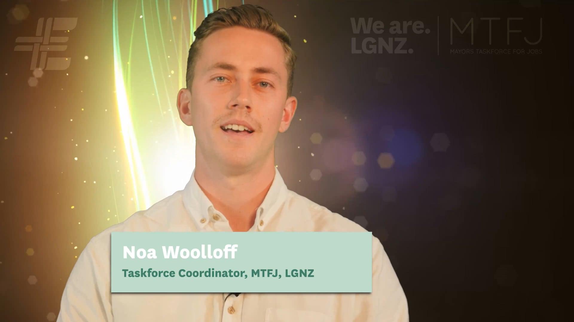 Noa Woolloff, Taskforce Coordinator, MTFJ