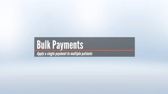 Bulk Payments