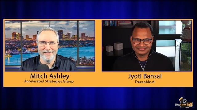 Jyoti Bansal-TechStrong TV
