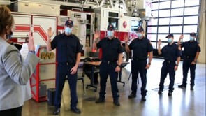 5 New Firefighters