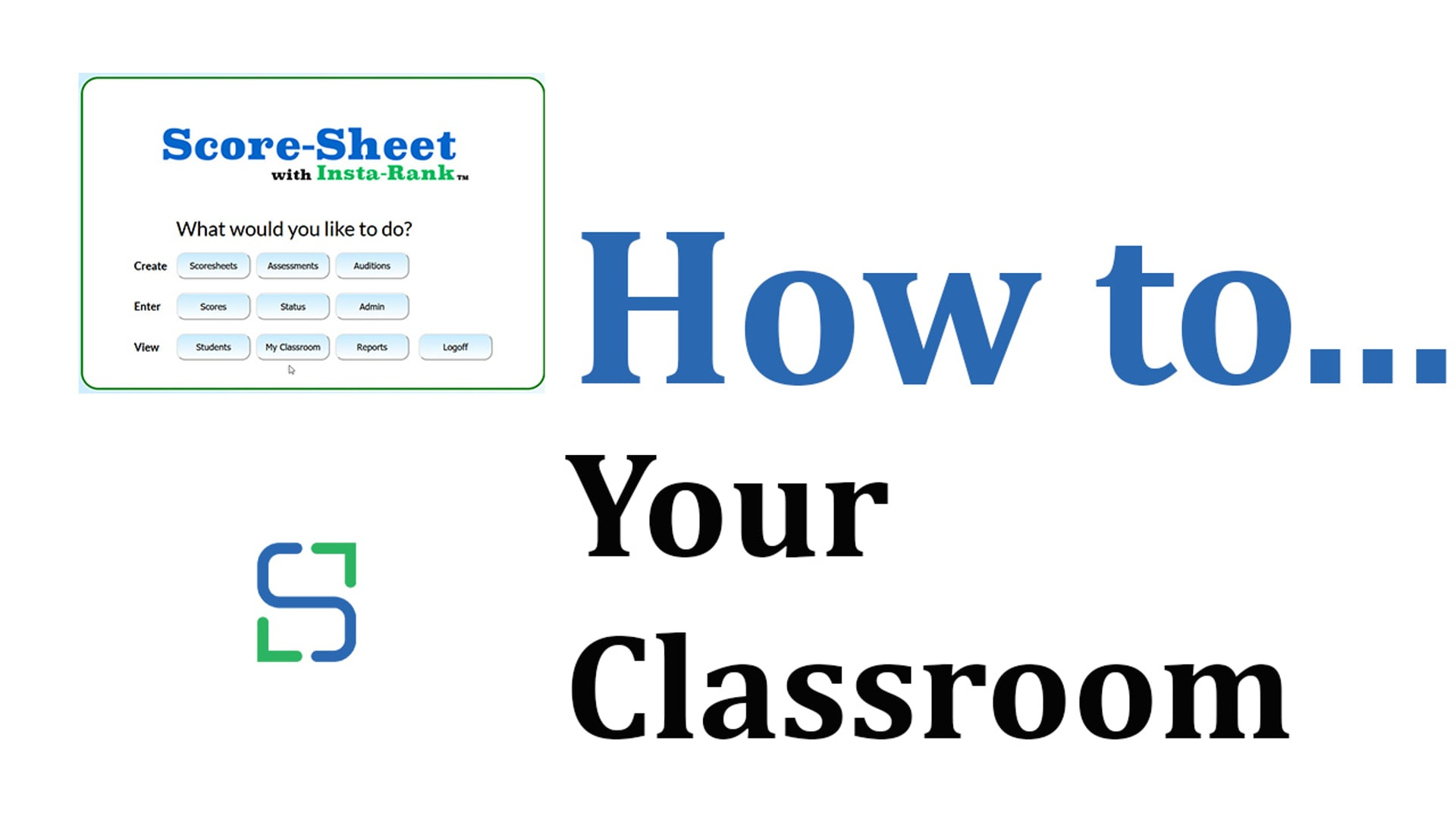 16 - YOUR CLASSROOM