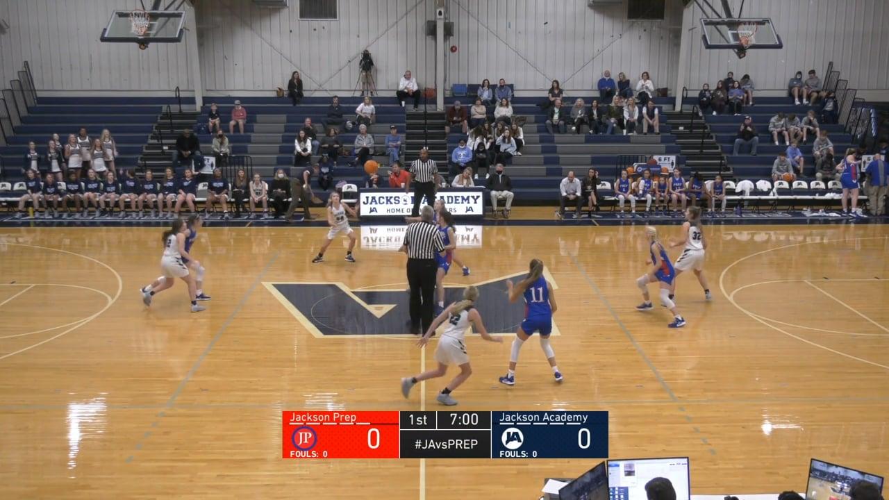 JV Girls Basketball vs Jackson Prep - 01-22-21