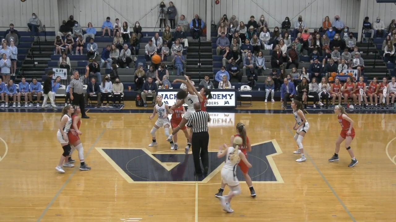 Varsity Girls Basketball vs Jackson Prep - 01-22-21
