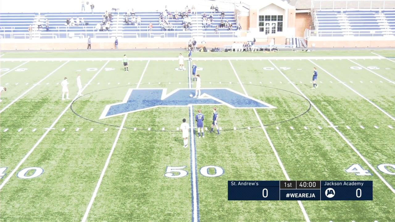 Varsity Boys Soccer vs St. Andrews - 01-23-21