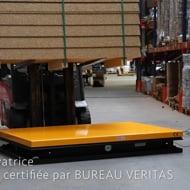 Table élévatrice électrique 2200 kg plateau 1830 x 1220 mm - Manulevage