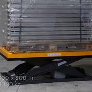 Table élévatrice électrique 1000 kg plateau 1300 x 800 mm 220 Volts - Manulevage
