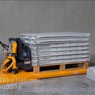 Table élévatrice électrique extraplate 1000 kg 220 Volts - Manulevage